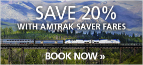 Amtrak 20% Discount